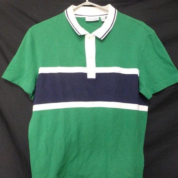 LACOSTE, regular fit, m, medium, polo shirt, GUC